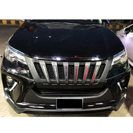 Toyota Fortuner Navara Style Front Chrome Grille - Model 2016-2020-SehgalMotors.Pk