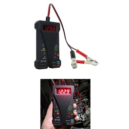 12 Volt Digital Battery Tester Charging System Analyzer-SehgalMotors.Pk