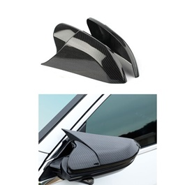 Honda Civic Batman Style Carbon Fiber Side Mirror Cover - Model 2016-2020-SehgalMotors.Pk