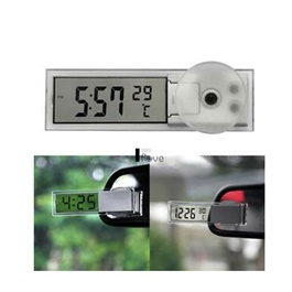 Mini Dashboard Windshield Car Auto Clock-SehgalMotors.Pk