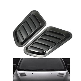 Universal ABS Car Decor Hood Scoop Air Flow - Mix Color 5028-SehgalMotors.Pk