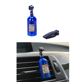 NOS Can AC Vent Perfume - Blue-SehgalMotors.Pk