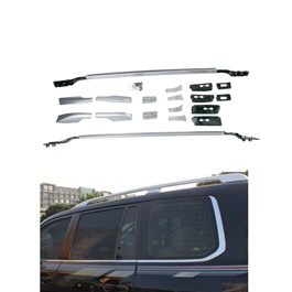 Toyota Land Cruiser Full Chrome Roof Rails - Model 2015-2021-SehgalMotors.Pk