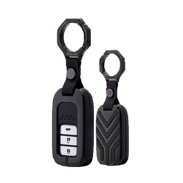 Honda Civic Key Shell Keycase Matte Black - Model 2016-2019-SehgalMotors.Pk