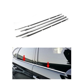 Suzuki Mehran Weather Strip Chrome - Model 2012-2019-SehgalMotors.Pk