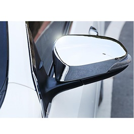 Toyota Aqua Side Mirror Cover Chrome - Model 2012-2019 MA00394-SehgalMotors.Pk