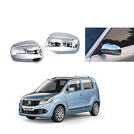 Suzuki Wagon R Side Mirror Chrome Covers- Model 2014-2019	-SehgalMotors.Pk