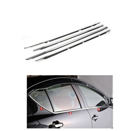 Toyota Aqua Weather Strip Chrome - Model 2012-2019