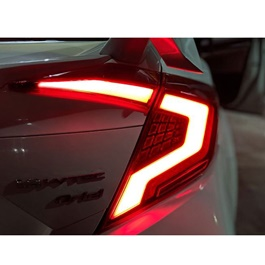 Honda Civic Audi Style Lava Back Lamps / Back Lights Red- Model 2016-2020-SehgalMotors.Pk
