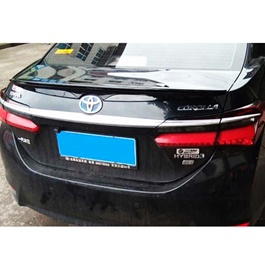 Toyota Corolla Pure ABS Trunk Spoiler - Model 2017-2019-SehgalMotors.Pk