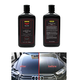 Maximus Elite Class Car Color Wax - Attitude Black | Car Paint Scratch Paint Care Auto Polishing Repair Wax | Color Magic Car Automobiles Paint Polishing Care | Water Repellent | Shining Gloss Look Polish | Color Restorer | Scratch Filling Polish