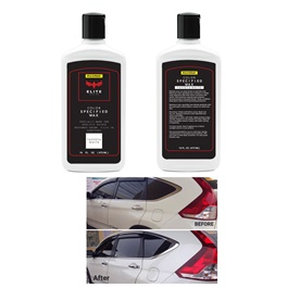 Maximus Elite Class Car Color Wax - Taffeta White | Car Paint Scratch Paint Care Auto Polishing Repair Wax | Color Magic Car Automobiles Paint Polishing Care | Water Repellent | Shining Gloss Look Polish | Color Restorer | Scratch Filling Polish-SehgalMotors.Pk