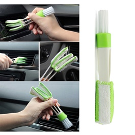 Detailing Brush 3 Way | Car Detail Tools Brush Long Durable 2 In 1 Double Slider Car Clean Auto Cleaning Accessories