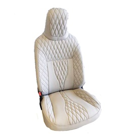 U.A.E Japanese Leather Type Rexine Seat Covers Beige
