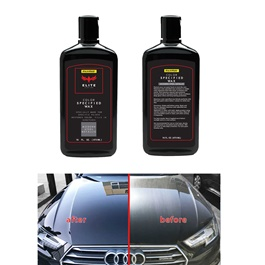 Maximus Car Color Wax - Modern Steel Metallic