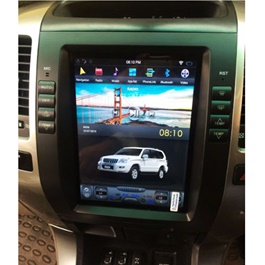 Toyota Prado Tesla Style IPS Display LCD Multimedia System Android 11 Inches  - Model 2002-2009