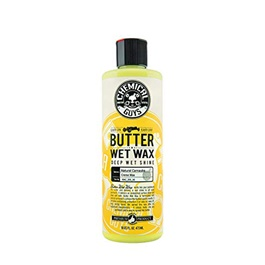 Chemical Guys Vintage Butter Wet Wax - 16oz | Wax for Cars | Car Wax Polish | Car Polish | Polishing Wax Cream | Super Hydrophobic | Paint Care Cleaning Coating Film Agent | Liquid Polish | Best Wax | Car Care Product | Best Polish | Car Cleaning Agent | Polish For Car Body | Easy Operation For Caring And Maintenance Clean-SehgalMotors.Pk