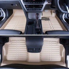 Toyota Land Cruiser FJ200 5D Floor Mat Beige - Model 2015-2019-SehgalMotors.Pk