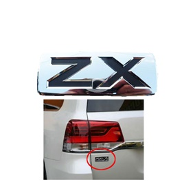 Toyota Land Cruiser ZX Monogram Logo Emblem Original- Each-SehgalMotors.Pk