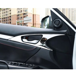 Honda Civic Inner Door Cover Chrome 4 Pcs- Model 2016-2019-SehgalMotors.Pk