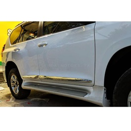 Toyota Prado Door Moulding Full Chrome Version 2 - Model 2009-2019-SehgalMotors.Pk