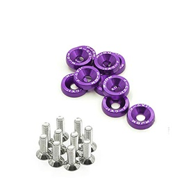 JDM Fender Washers - Purple-SehgalMotors.Pk