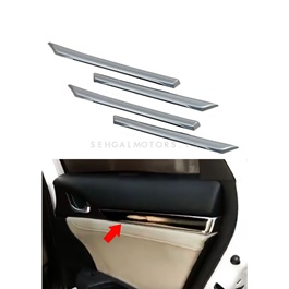 Honda Civic Inner Door Line Moulding Chrome 4 Pcs  - Model 2016-2021-SehgalMotors.Pk