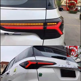 Toyota Fortuner Audi Style back Lamps Smoke - Model 2016-2019-SehgalMotors.Pk