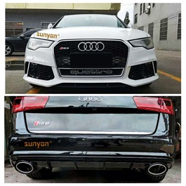 Audi A6 New Style OD Body Kit / Bodykit - Model 2011-2017-SehgalMotors.Pk