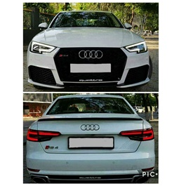 Audi A4 New Style OD Body Kit / Bodykit - Model 2016-2019-SehgalMotors.Pk