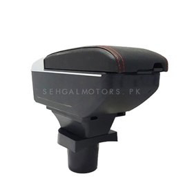 Honda BRV Custom Fit Arm Rest Black - Model 2017-2019