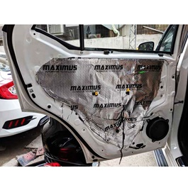Maximus Sound Damping Deadening  Sheet Premium Silver - Each | Noise Reduction | Vibration Reduction | Shock Proofing-SehgalMotors.Pk
