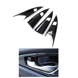 Honda Civic Carbon Fiber Inner Side Door Trim - Model 2016-2021 (100302808)-SehgalMotors.Pk