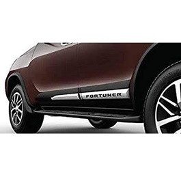 Toyota Fortuner New Style Side Chrome Moulding - Model 2016-2019-SehgalMotors.Pk