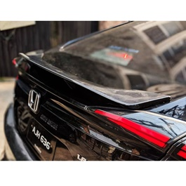 Honda Civic Slow Rider Style Unpainted ABS Spoiler - Model 2016-2019-SehgalMotors.Pk