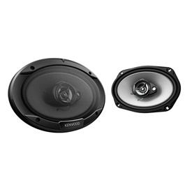 Kenwood KFC-S6966 Flush Mount 3 Way Speaker System-SehgalMotors.Pk
