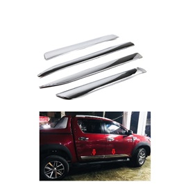 Toyota Hilux Revo Door Lower Full Chrome Moulding  - Model 2016 - 2019-SehgalMotors.Pk