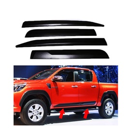 Toyota Hilux Revo Door Moulding Black - Model 2016-2020-SehgalMotors.Pk