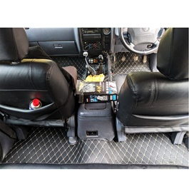 Toyota Prado 7D Floor Matting Black - Model 1996-2002