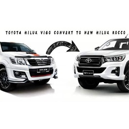 Toyota Hilux Vigo Face Uplift Conversion / Upgrade to Rocco - Model 2005-2019 | Vigo to Rocco-SehgalMotors.Pk