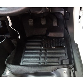 Suzuki Alto 5D Custom Floor Mat Black - Model 2018-2019-SehgalMotors.Pk