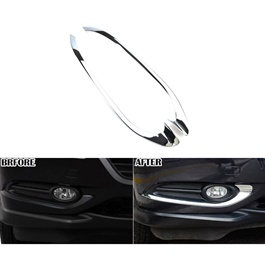 Honda Vezel Fog Lamp Chrome Trims - Model 2013-2018-SehgalMotors.Pk