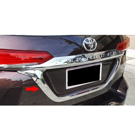 Toyota Fortuner Rear Chrome Garnish - Model 2016-2019-SehgalMotors.Pk
