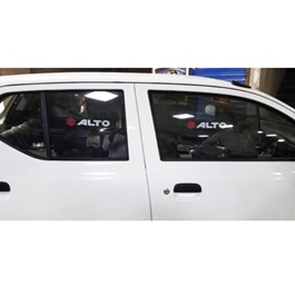 Suzuki Alto Side Sunshade / Sun Shades with Logo - Model 2018-2019-SehgalMotors.Pk