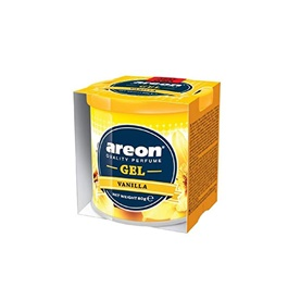 Areon Gel Car Perfume Long Lasting Fragrance Can vanilla-SehgalMotors.Pk