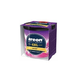 Areon Gel Car Perfume Long Lasting Fragrance Can Lilac-SehgalMotors.Pk