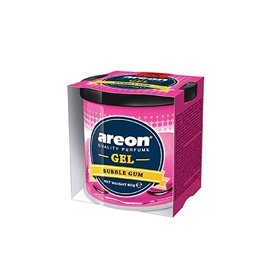 Areon Gel Car Perfume Long Lasting Fragrance Can Bubble Gum-SehgalMotors.Pk