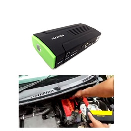 Maximus Car Battery Jump Starter Power Bank | Starts a Car 20 Times in One Charge | Mobile Charger | Laptop Charger -SehgalMotors.Pk