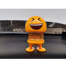 Bouncing Car Dashboard Smileys Emoji Emoticon Toy - Laughing-SehgalMotors.Pk