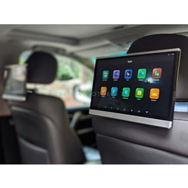 Universal Headrest LCD Tablet Style 12.5 Inch Android IPS Multimedia System - Pair-SehgalMotors.Pk